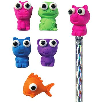 Here's Looking At You Eraser Pencil Topper - 150 Units