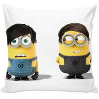 Dan and Phil as minions pillow