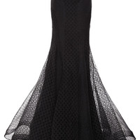 Embroidered Organza Skirt by Zac Posen for Preorder on Moda Operandi