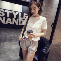 Hong Kong style fashion leisure suit