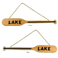 TWO SIDED LAKE ARROW OAR
