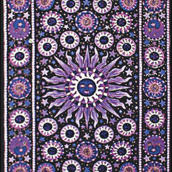 Heliocentric - Purple - Tapestry