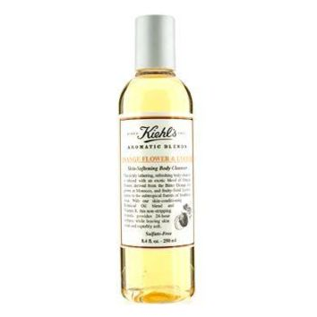 Kiehl's Orange Flower & Lychee Skin Softening Body Cleanser Ladies Fragrance