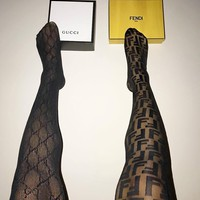 Gucci / Fendi Black Tights