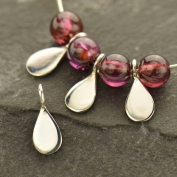 Sterling Silver Tiny Teardrop Dangle