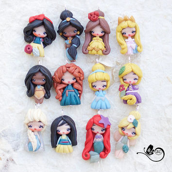 charms disney  princess / disney / princess collection