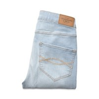Abercrombie & Fitch Natural Waist Jeggings