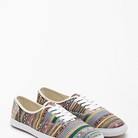 Tribal Pattern Plimsolls