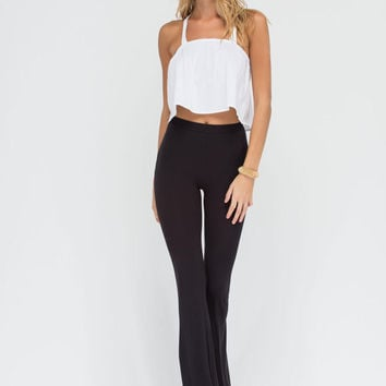Dare To Be Flared Knit Pants GoJane.com