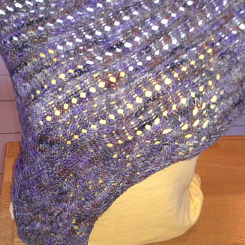 Knit Prayer Shawl - Lace Shawl