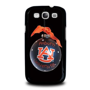 auburn university war eagle samsung galaxy s3 case cover  number 1