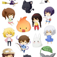 Stickers: Studio Ghibli
