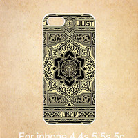 Mandala iphone 4s cover, iphone 4 cover, iPhone 4 4s rubber cover,cover skin case for iphone 4/4s4g cover,Eco-Friendly, Floral iphone cover