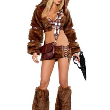 Furry Costume Long Sleeve Set