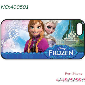 Disney frozen Phone Case, iPhone 5/5S/5C Case, iPhone 4 Case, iPhone 4S Case, sister love, Phone Cases, Phone covers, Case for iPhone-400501