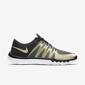 The SB50 Nike Free Trainer 5.0 V6 AMP (NFL) Men's Training Shoe.