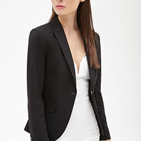 FOREVER 21 Classic One-Button Blazer