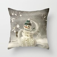 Christmas Time Throw Pillow by Texnotropio