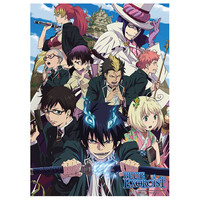 "Blue Exorcist: ""Wall Scroll - Rue Cross Academy (GE9974)"" : TokyoToys.com: UK Based e-store, Anime Toys Retail & Wholesale, Manga Action Figures,  Hentai Statues, Japanese Snacks, Pocky, DVDs, Gashapon,  Cosplay, Monkey Shirt, Final Fantasy, Bleach, Naruto"