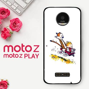 Calvin And Hobbes X4727  Motorola Moto Z Play Case
