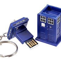 Doctor Who TARDIS Flash Drive