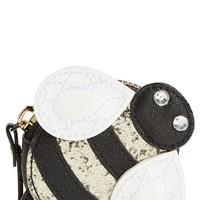 kate spade new york 'bee' leather coin purse | Nordstrom