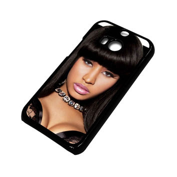 NICKI MINAJ IN BLACK HTC One M8 Case Cover