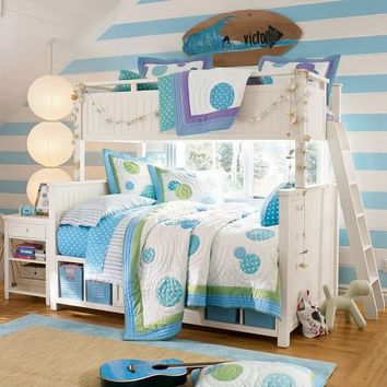 beadboard bunk bed from pbteen future house