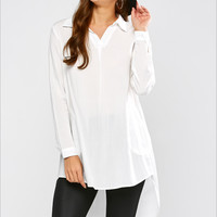 All Worth It Blouse In Black & white