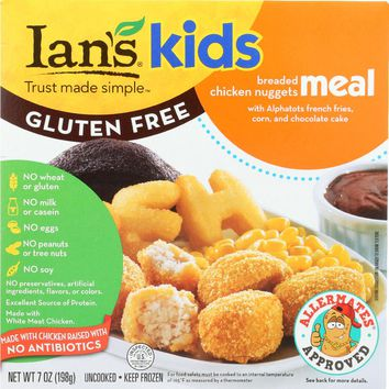 IAN'S NATURAL FOODS: Chicken Nuggets Kids Meal, 7 oz
