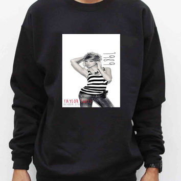 Taylor-Swift-1989-Poster Sweater for Man and Woman, S / M / L / XL / 2XL *AA*