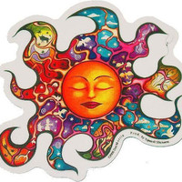 Dan Morris - Sleeping Sun - Sticker