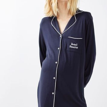 MATERNITY Sweet Dreams Sleepshirt - Maternity - Clothing