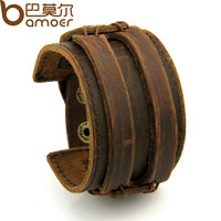 BAMOER Leather Cuff