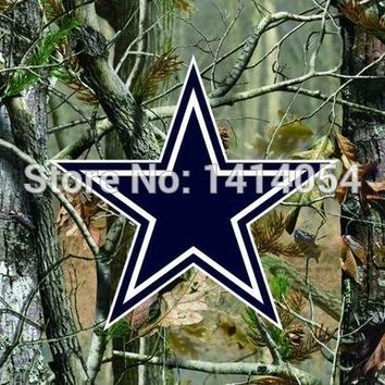 Dallas Cowboys  real tree camo  Flag 150X90CM Banner 100D Polyester3x5 FT flag brass grommets 001, free shipping