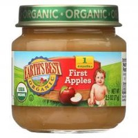 Organic First Apples Baby Food - Stage 1 - Case of 12 - 2.5 oz.