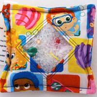 I Spy Bag with detachable item list - Bubble Guppies, summer vacation