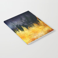 My burning desire Notebook by HappyMelvin