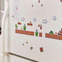 Super Mario Brothers Collectors Edition Magnets Set - Urban Outfitters