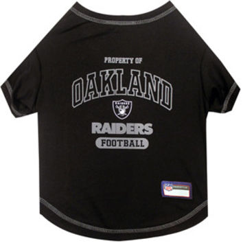 Oakland Raiders Pet Shirt XS