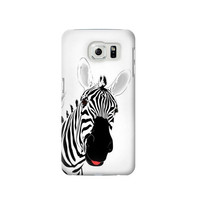 P0883 Hello Zebra Case Cover For Samsung Galaxy S6 Edge