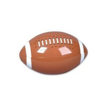 "12 Inflatable FOOTBALL Beach Balls/INFLATES/POOL PARTY Birthday FAVORS/TOY 16"" DOZEN/NEW in package"