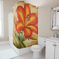 floral 65 shower curtain