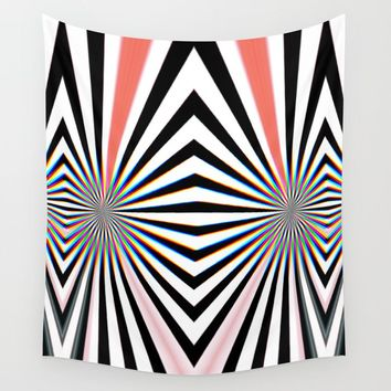 Hypno Wall Tapestry by duckyb