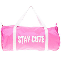 The Logo Gym Bag in Pink