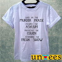 Lived in The Murder House Women T Shirt