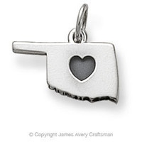 I Love Oklahoma Charm from James Avery