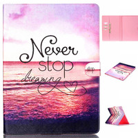 Never Stop Case Wallet for iPad Pro 12.9