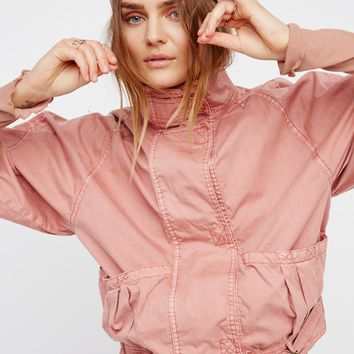 Free People Parachute Jacket