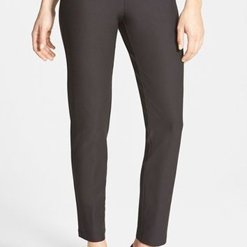 Women's Eileen Fisher Stretch Crepe Ankle Pants ,